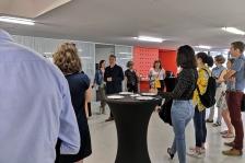 Accueil des nouveaux inscrits au CROA (Lille) le mardi 18 juin 2019 avant leur prestation de serment à l'ENSAPL