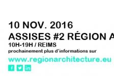 Assises Région architecture_Grand Est_2016