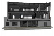 Projet de la future Maison du Bâtiment à Cergy-Pontoise - Thierry Parinaud (Studio 4) arch.