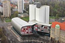 Extension de la bibliothèque nationale à Leipzig - Gabriele Glöcker / ZSP Architekten Stuttgart