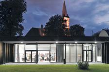 Foyer paroissial Strasbourg, agence Aubry Lieutier architectes