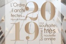 Carte de voeux 2019 CROA HDF
