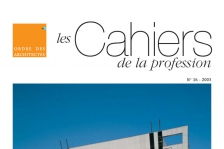 Couverture - Les Cahier de la profession n°16