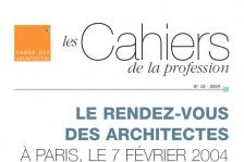 Couverture - Cahiers de la profession n°18