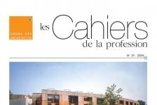 Couverture - Cahiers de la profession n°19