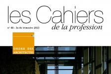 Couverture  - Cahiers de la profession n°48