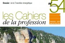 Cahiers de la profession 54
