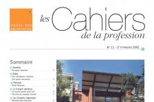 Couverture - Les Cahiers de la profession n°11