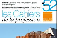 Couverture - Cahiers de la profession n°52