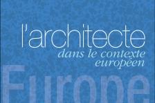 Couverture - L'architecte dans le contexte européen