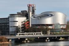 Cour européenne des droits de l'homme de Strasbourg - Richard Rogers arch.