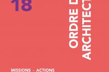 Couverture rapport d'activité CROA PACA 2018