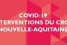 Bandeau - Covid 19 - interventions du CROANA
