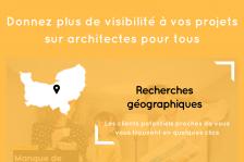 Donnez plus de visibilité à vos projets : inscrivez-vous sur architectes pour tous !