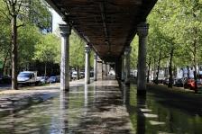 Espace viaire sous viaduc, boulevard Blanqui, Paris XIII°