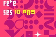 Visuel flyer Programme anniversaire des 10 ans du 308