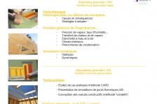 Formation Hygrothermie et noeuds constructifs dans les bâtiments en bois