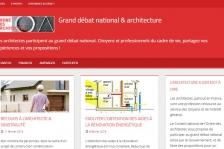 Grand débat national & architecture