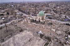 complexe Al Nouri à Mossoul