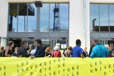Universités d'été de l'architecture, au Silo, Marseille, le 16/10/2014 (photo : © Zoo, designers graphiques)