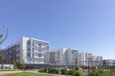 Logements collectifs à Balma, Haute-Garonne, Laurens&Loustau arch. photo : S. Chalmeau - Source : www.archicontemporaine.org