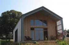 Lauréat 2013 catégorie Maison individuelle : Hangar réinterprété à Marigny l'Eglise - Atelier Correia Architectes et Associés