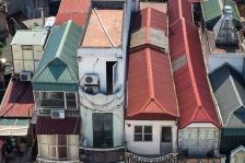 Les maisons longues de Hanoï (photo : Architecture by Road)