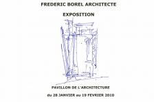 affiche expos Frédéric Borel