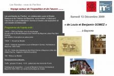 Prog. VIsite du 12/12/9 - Exposition
