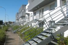 26 logements sociaux à Illzach (Alsace), Mongiello-Plisson arch. © architectes. Source: www.archicontemporaine.org