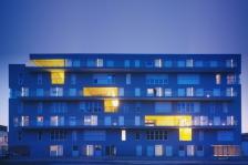 Machu Picchu, 53 logements locatifs sociaux et espaces partagés, Lille. Sophie Delhay arch.©J. Lanoo