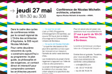 Conférence 270510-Nicolas Michelin