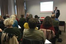 Atelier MAF à Bayonne - Patrick Cormenier de la direction des sinistres