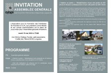 Invitation AG AFAPI
