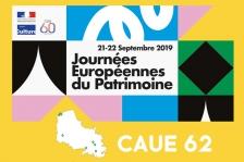JEP 2019 : CAUE Pas-de-Calais (62)