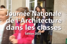 Journée nationale de l'architecture dans les classes