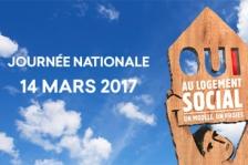 """Journée nationale du 14 mars 2017 : """"Oui au logement social"""""""