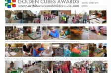 Golden cubes award