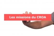 Les missions du CROA