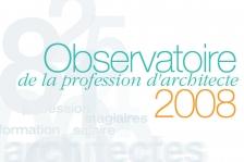 Couverture - Observatoire 2008