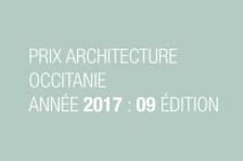 Prix architecture Occitanie : 9ème édition