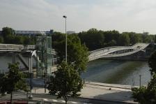 Passerelle Simone de Beauvoir, Paris, Dietmar Feichtinger arch.