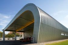 Ateliers municipaux et déchetterie mobile, Entzheim, PM Architectes (© JP Dorner)