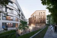 145 logements étudiants - construction bois isolation Paille