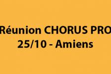 Réunion Chorus Pro