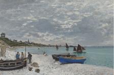 La plage à Sainte-Adresse