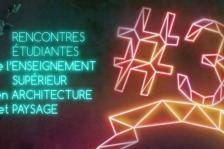 Rencontres Étudiantes de l'Enseignement Supérieur en Architecture et Paysage