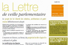 veille parlementaire
