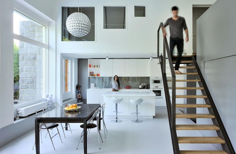 Rénovation et agencements d'un appartement en duplex à Sainte Foy lès Lyon (69)