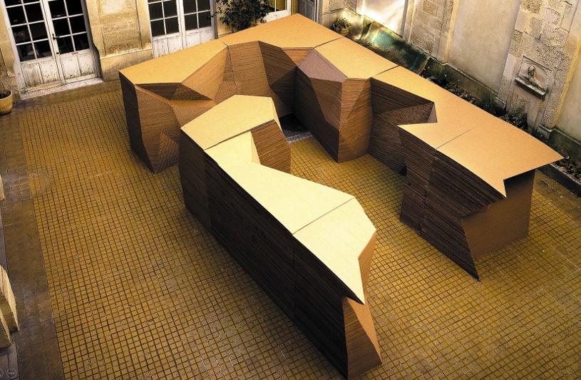 """""""Paysage artificiel"""", Festival des architectures vives à Montpellier, KLNB, Keeyong Lee, Nenad Basic"""